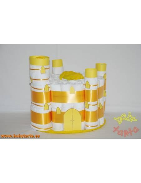 Castillo Bellver de pañales
