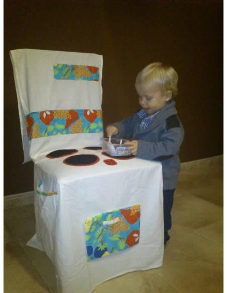 Cocina tela para silla