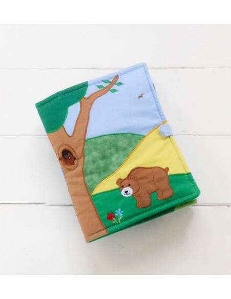 Quiet Book - Libro Animales del Bosque