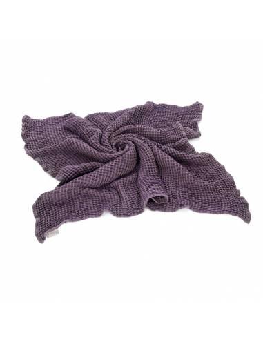 Manta algodón orgánico - estructura de gofre