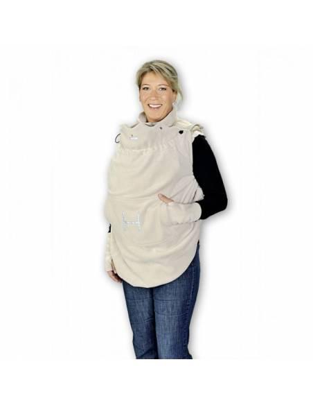 Cobertor portabebés 3en1: funda impermeable y forro polar
