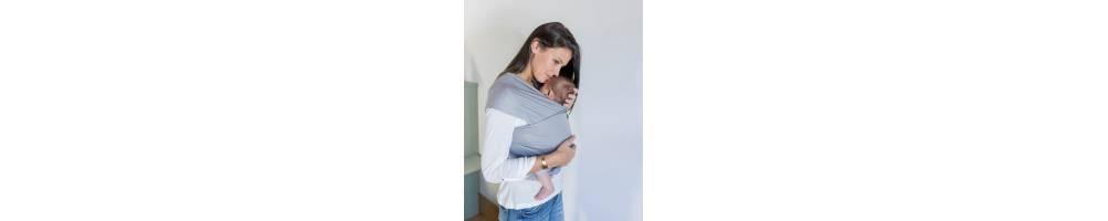 Fular, el portabebés ergonómico más sencillo y versátil. Baby Tarta