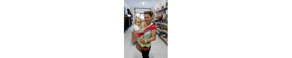 Comprar online portabebés ligeros y transpirables. Baby Tarta.